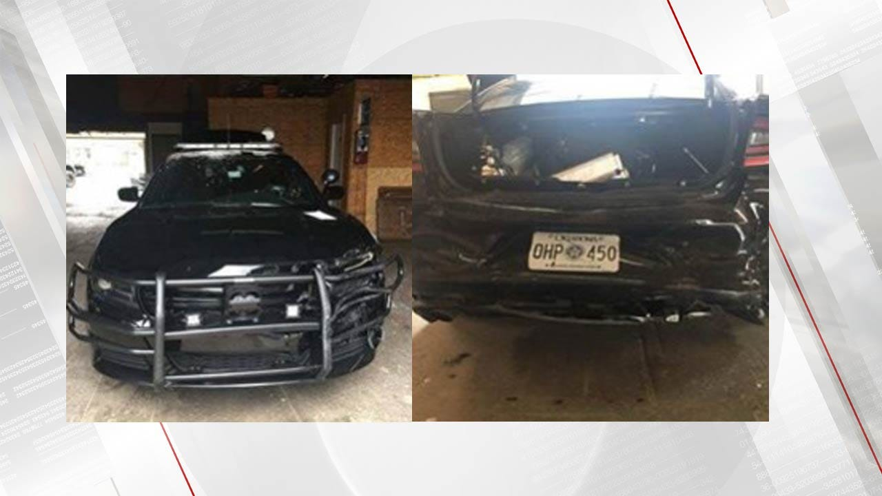 OHP Troopers Injured At Fatal Will Rogers Turnpike Crash