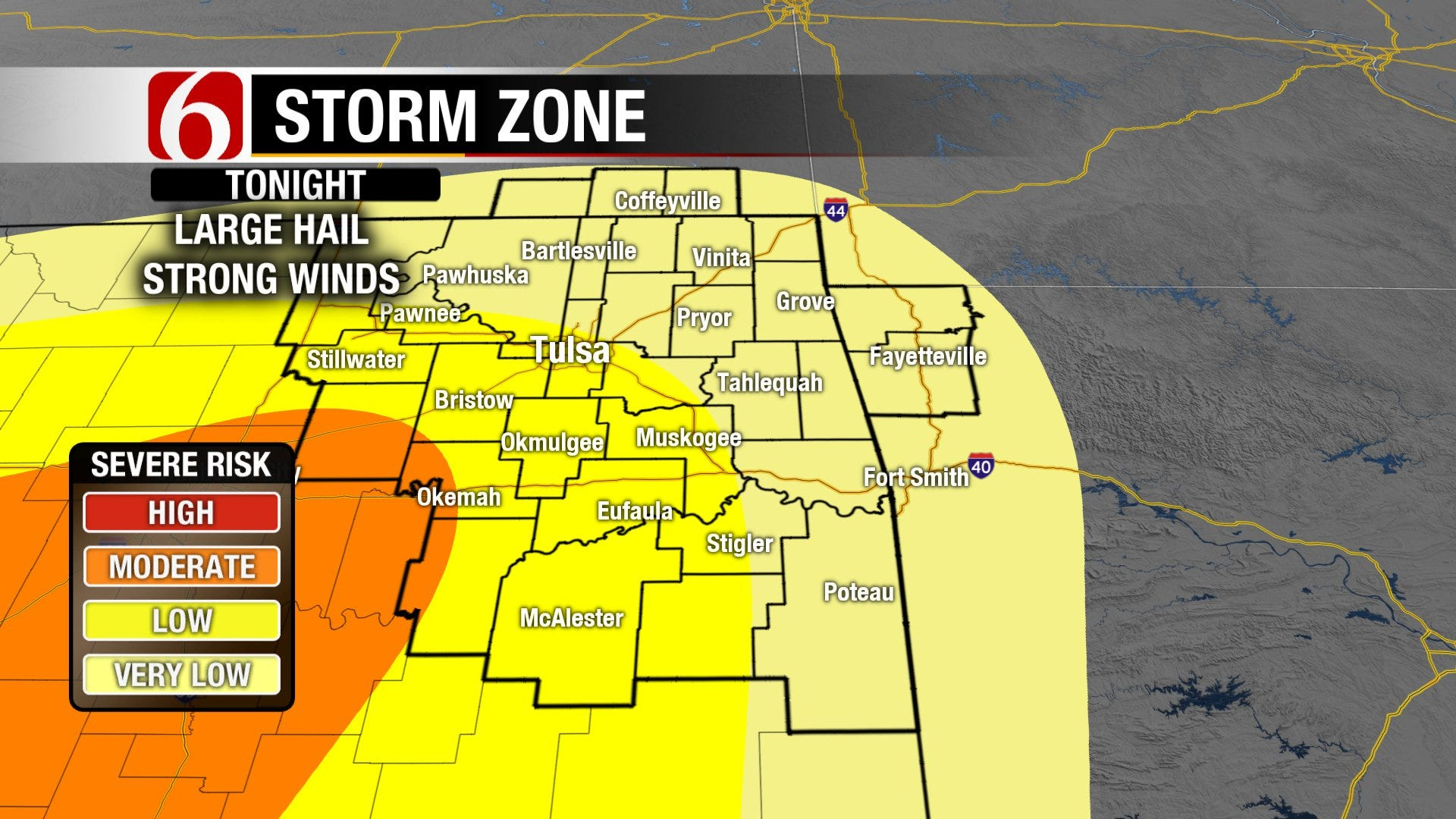 Several Rounds of Severe Storms In the Next Day Possible