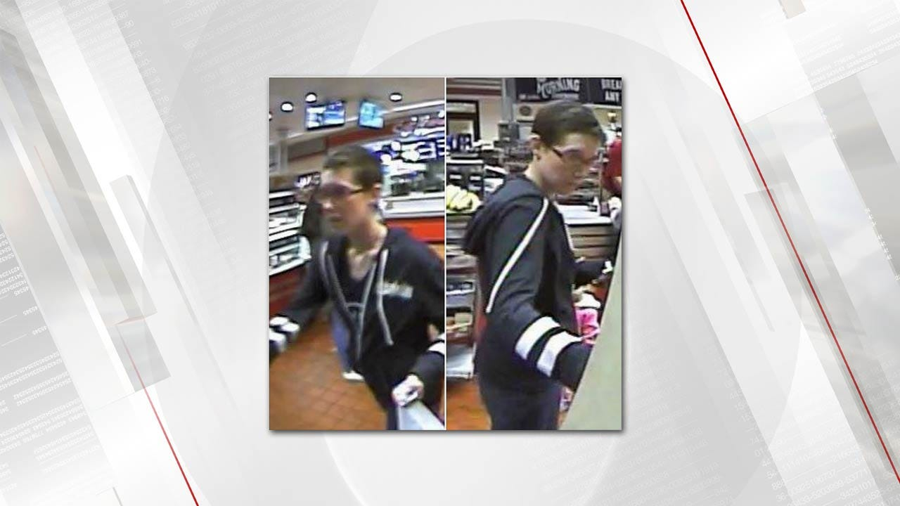 Tulsa Police Seek Person Of Interest In Financial Crime Investigation
