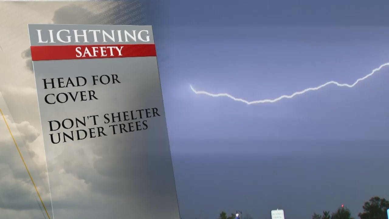 Lightning Is A Dangerous Fact Of Life In Oklahoma