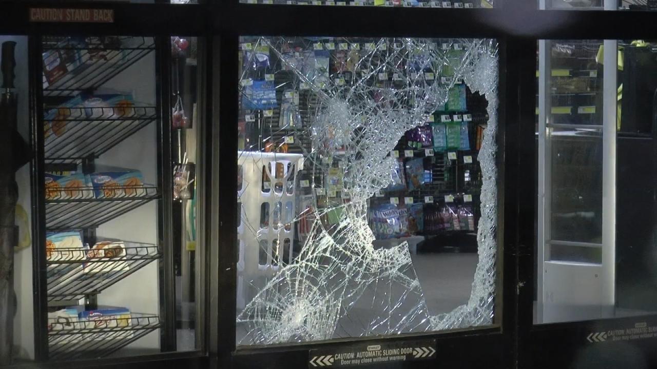Man Who Kicked In Door Of Tulsa Store In Jail