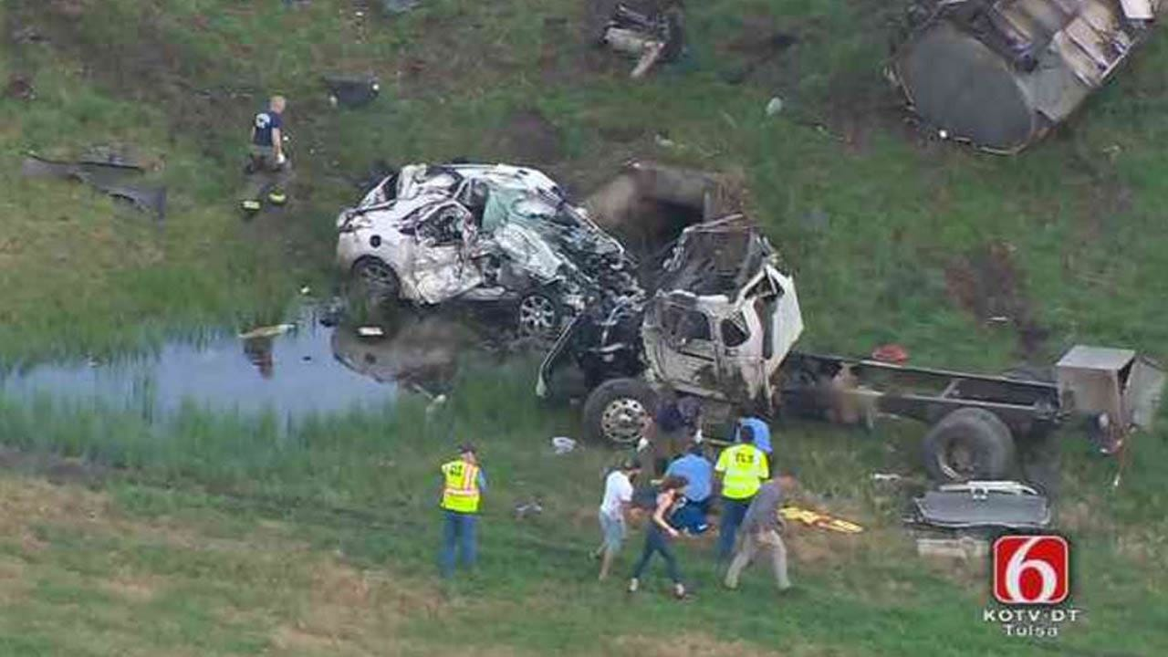 One Dead, One Hurt In Rogers County Collision