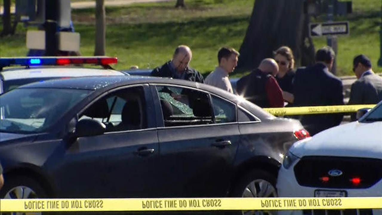Suspect Arrested, After Shots Fired Outside U.S. Capitol Office Building
