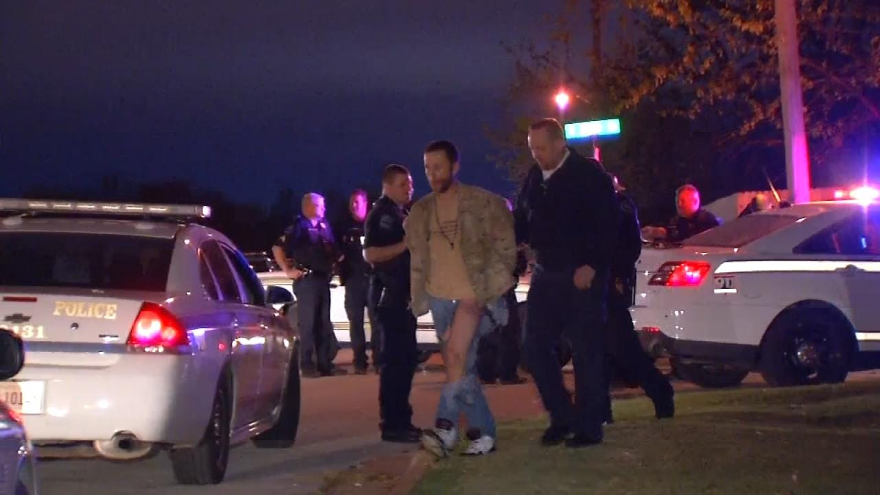 Driver Arrested Following Tulsa High-Speed Chase