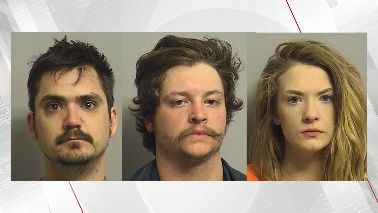 Tulsa Police: Three Busted Selling Gun To Person They Stole It From