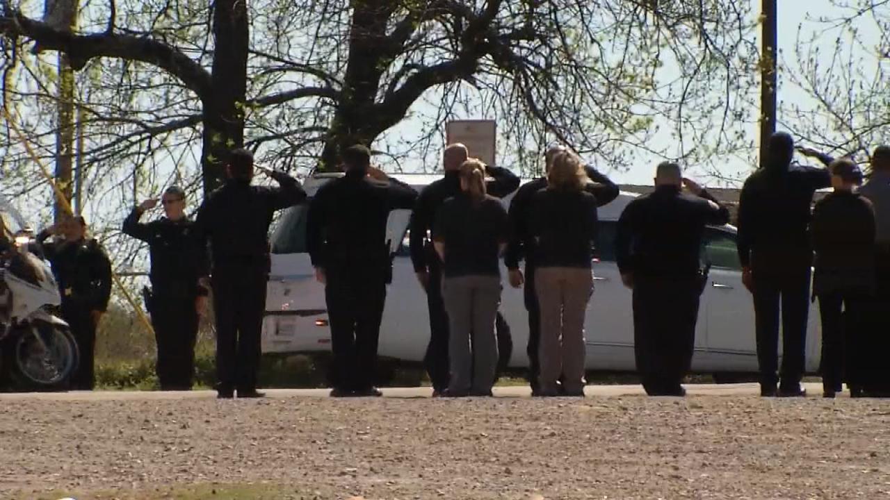 Thousands Honor Fallen Tecumseh Police Officer