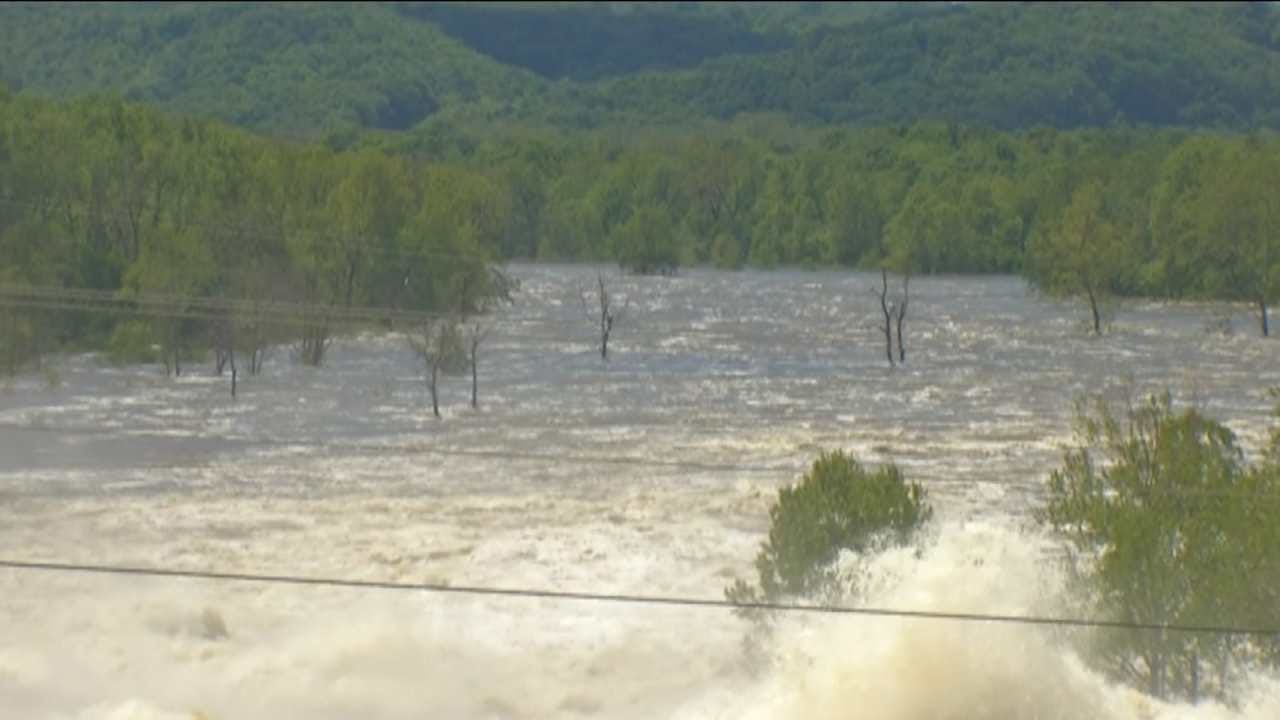 City Of Tulsa's Raw Water Supply Impacted By Flooding