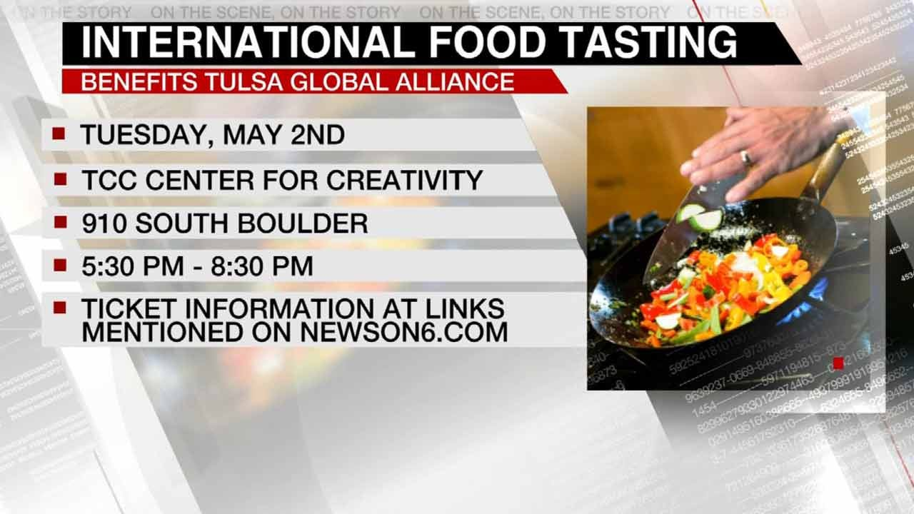 International Food Tasting Event Planned For Tulsa