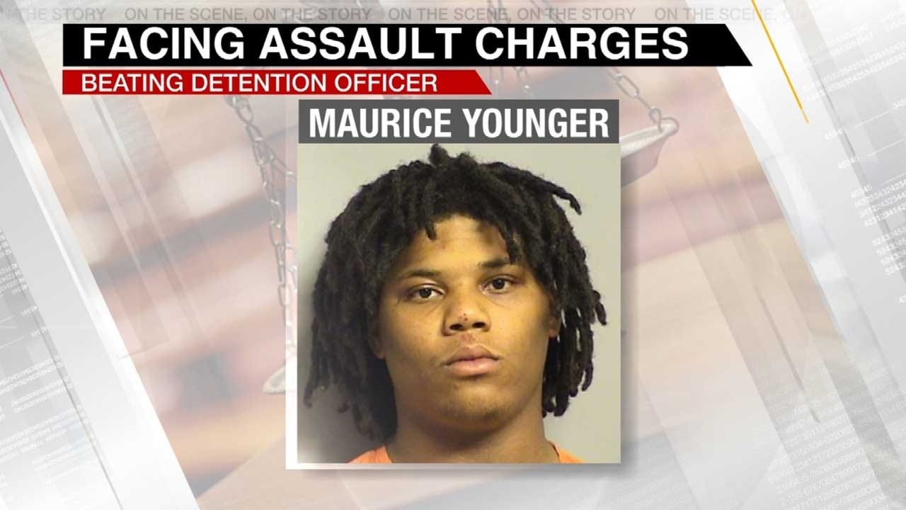 Man Accused Of Assaulting Tulsa Detention Officer Faces Charges