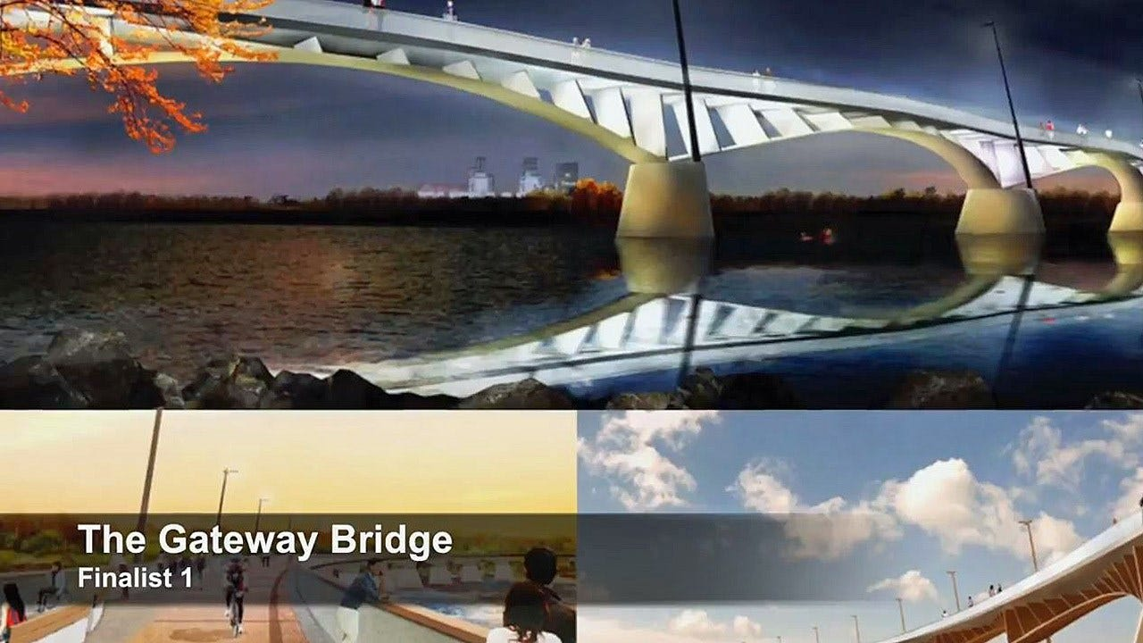 Two Finalists Selected For Tulsa Pedestrian Bridge Design
