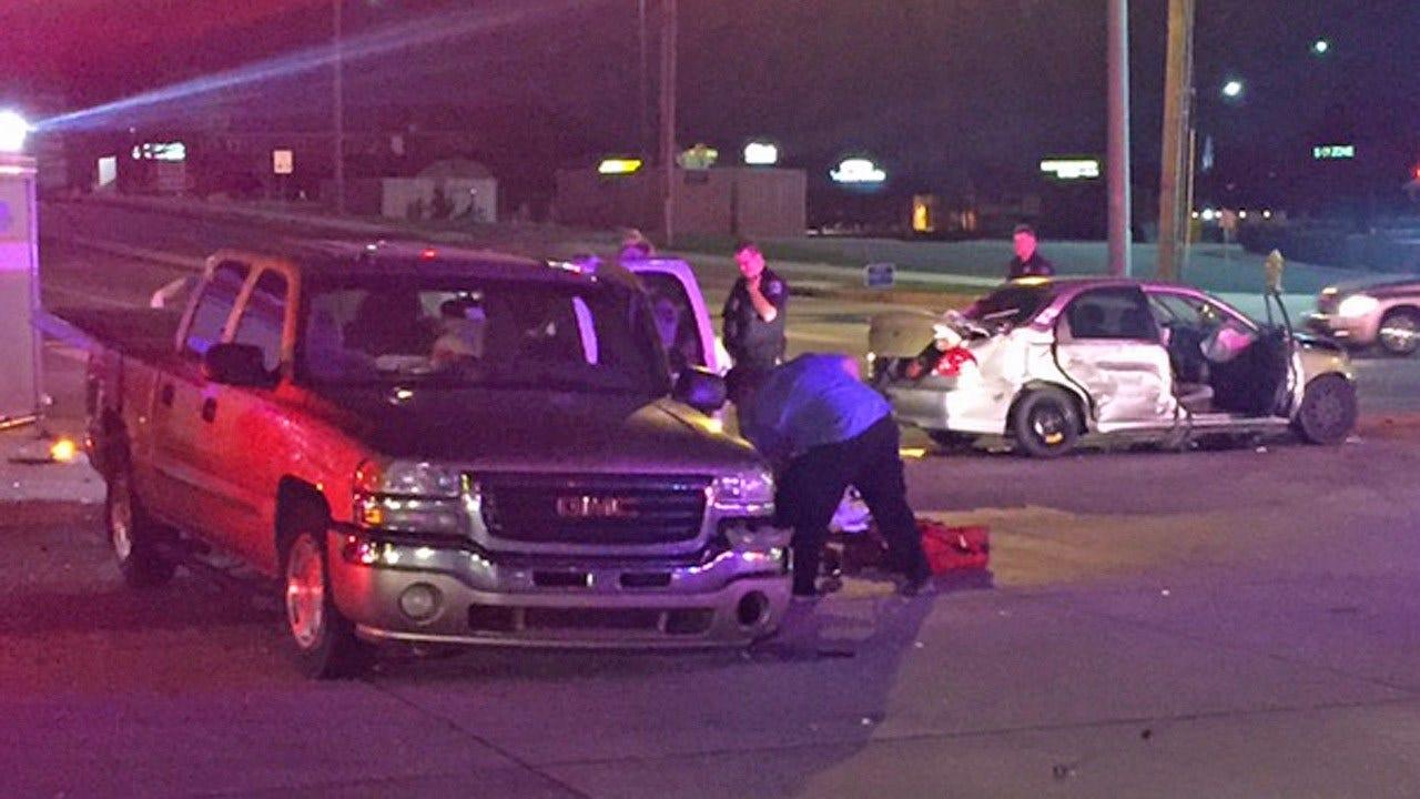 2 Hospitalized In Tulsa Crash Blamed On Brake Failure