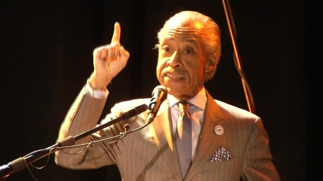 Crutcher Family, Al Sharpton Hold Prayer Rally And Call For Justice