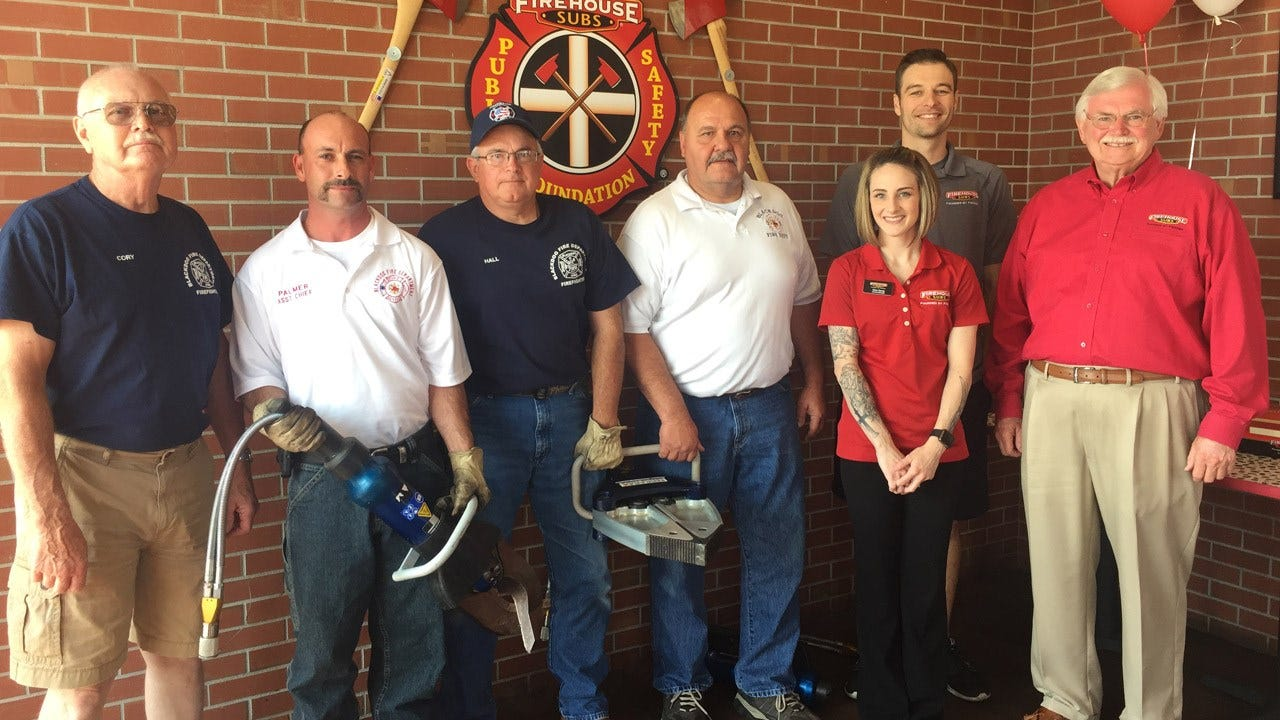 Firehouse Subs Public Safety Foundation Donates To Area First Responders