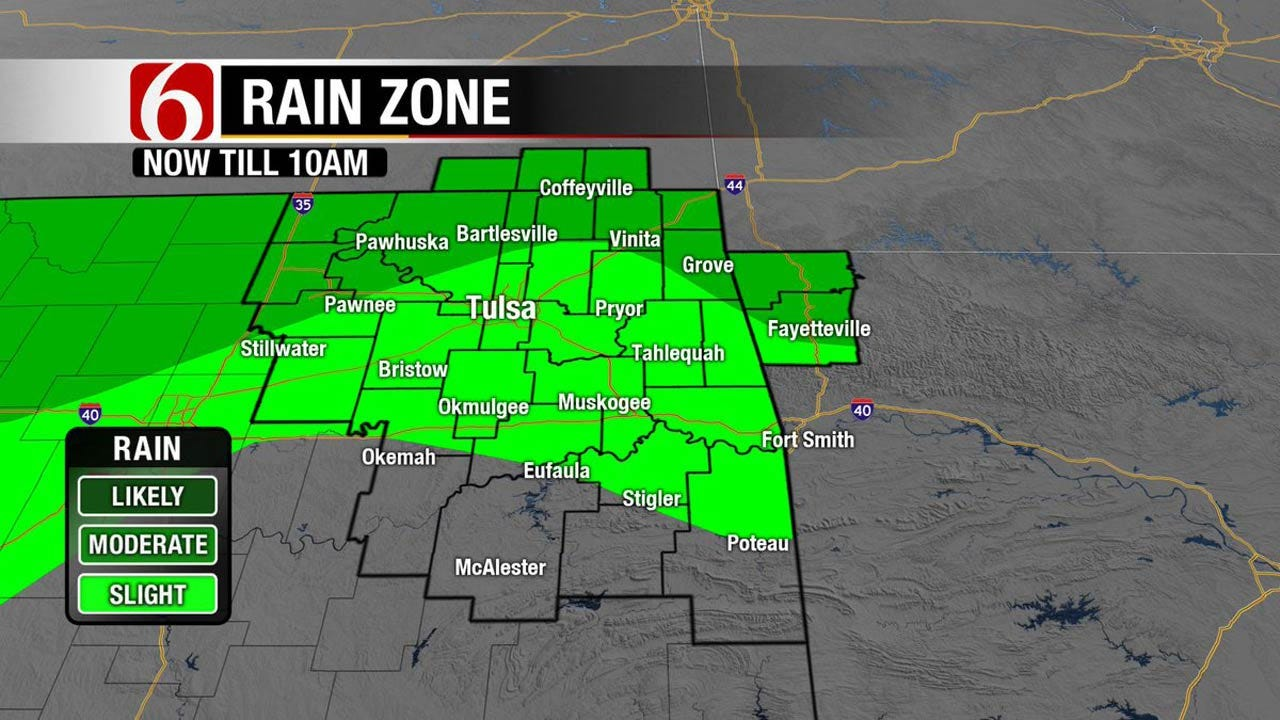 Rain, Storms Returning To Northeast Oklahoma