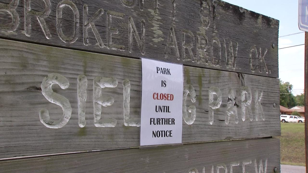 Broken Arrow Park Remains Closed Due To Sewage Leak