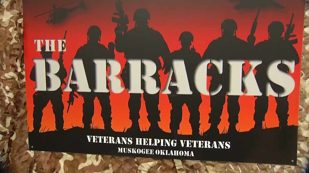 Founder Hopes All Muskogee County Veterans Will Benefit From 'The Barracks'