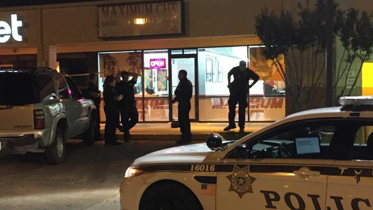 Man Shot In Leg During Apparent Fight Outside Tulsa Barber Shop