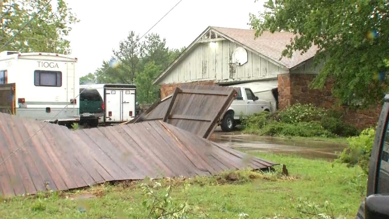 Owasso Residents Start Assessing Damage From EF-1 Tornado