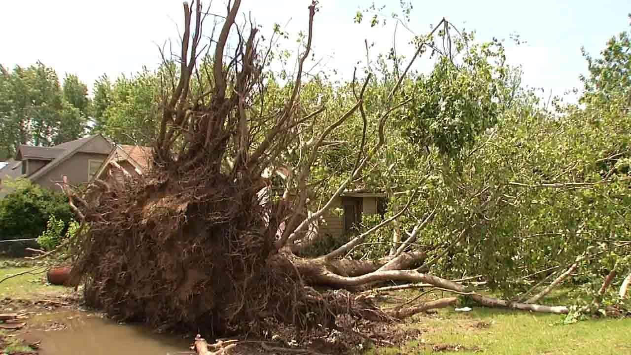 Owasso Tornado Causes Damage To Storms Spotter's Home
