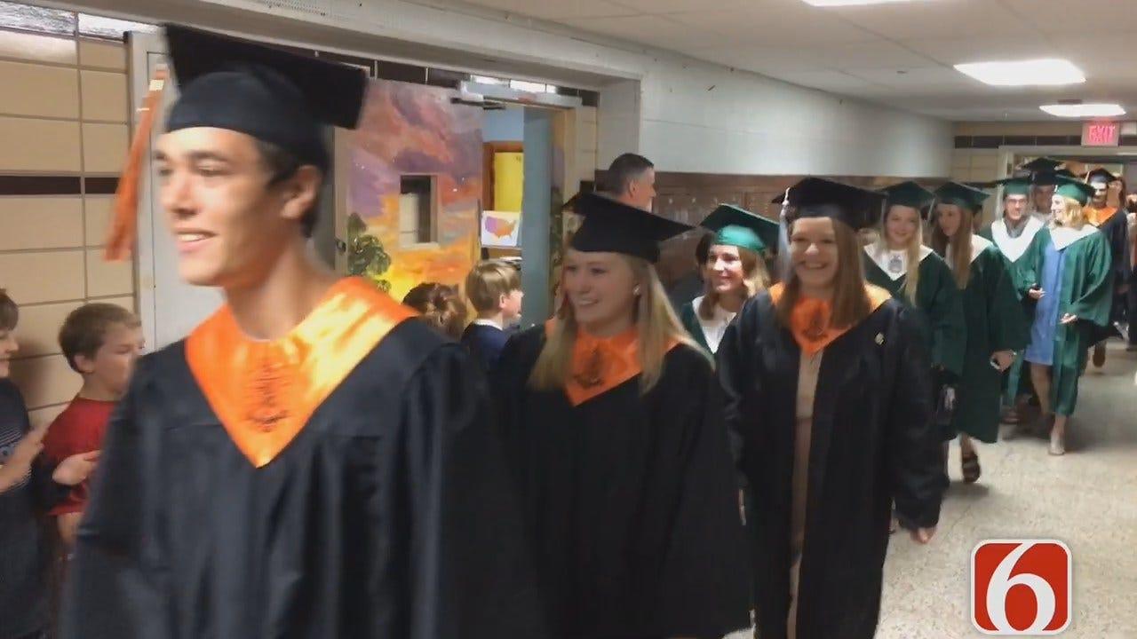 Senior Walk Held At Tulsa's Eliot Elementary School