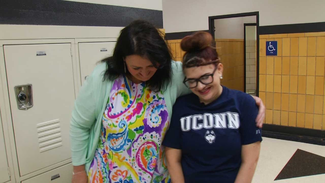 Support From Principal, Teacher Motivates Webster Student To Graduate