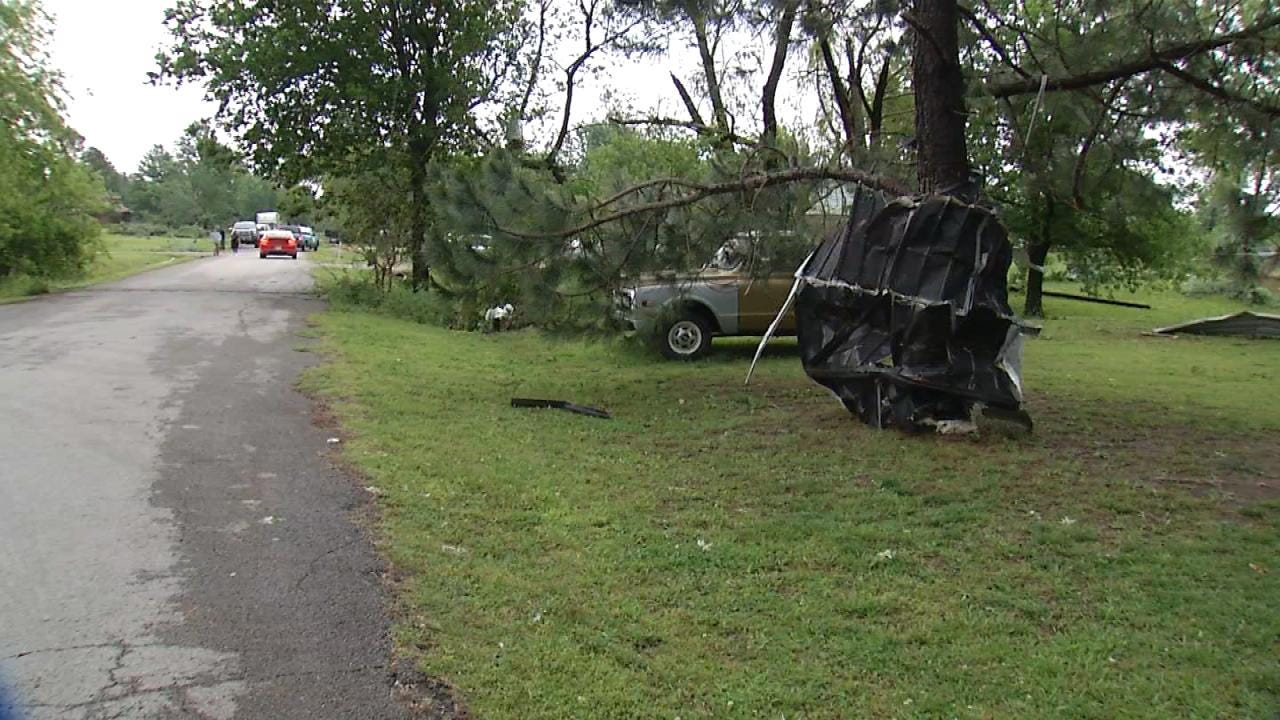 Weather Service Says EF-1 Tornado Touched Down In Owasso