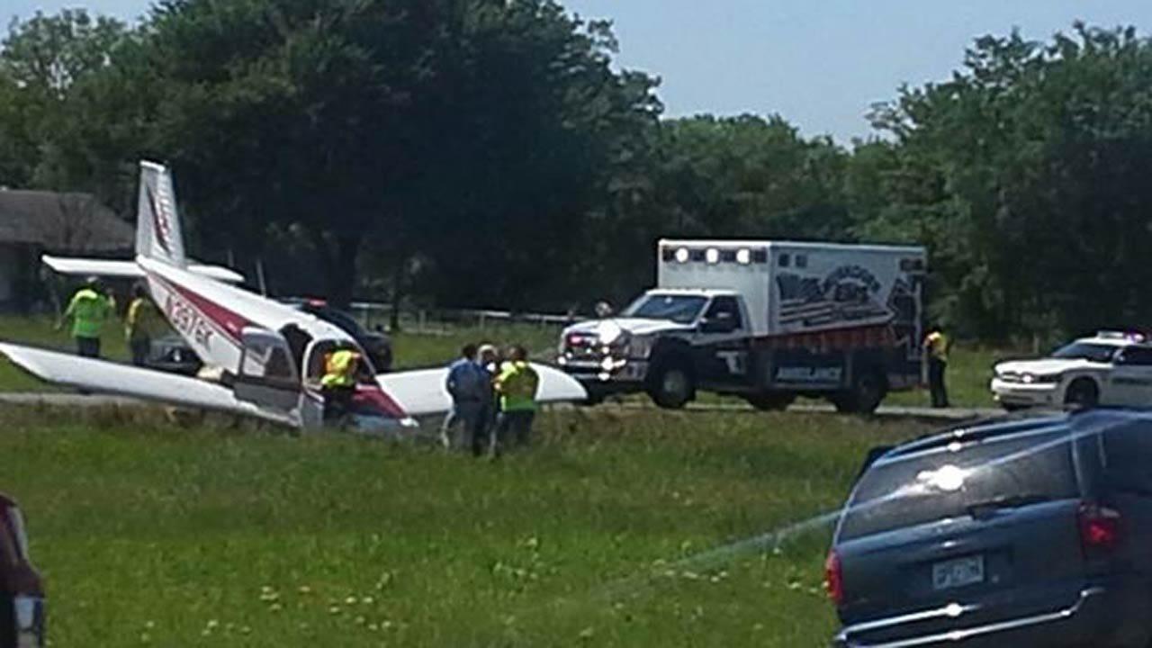 Plane Makes Emergency Landing On Highway 64 Near Muskogee