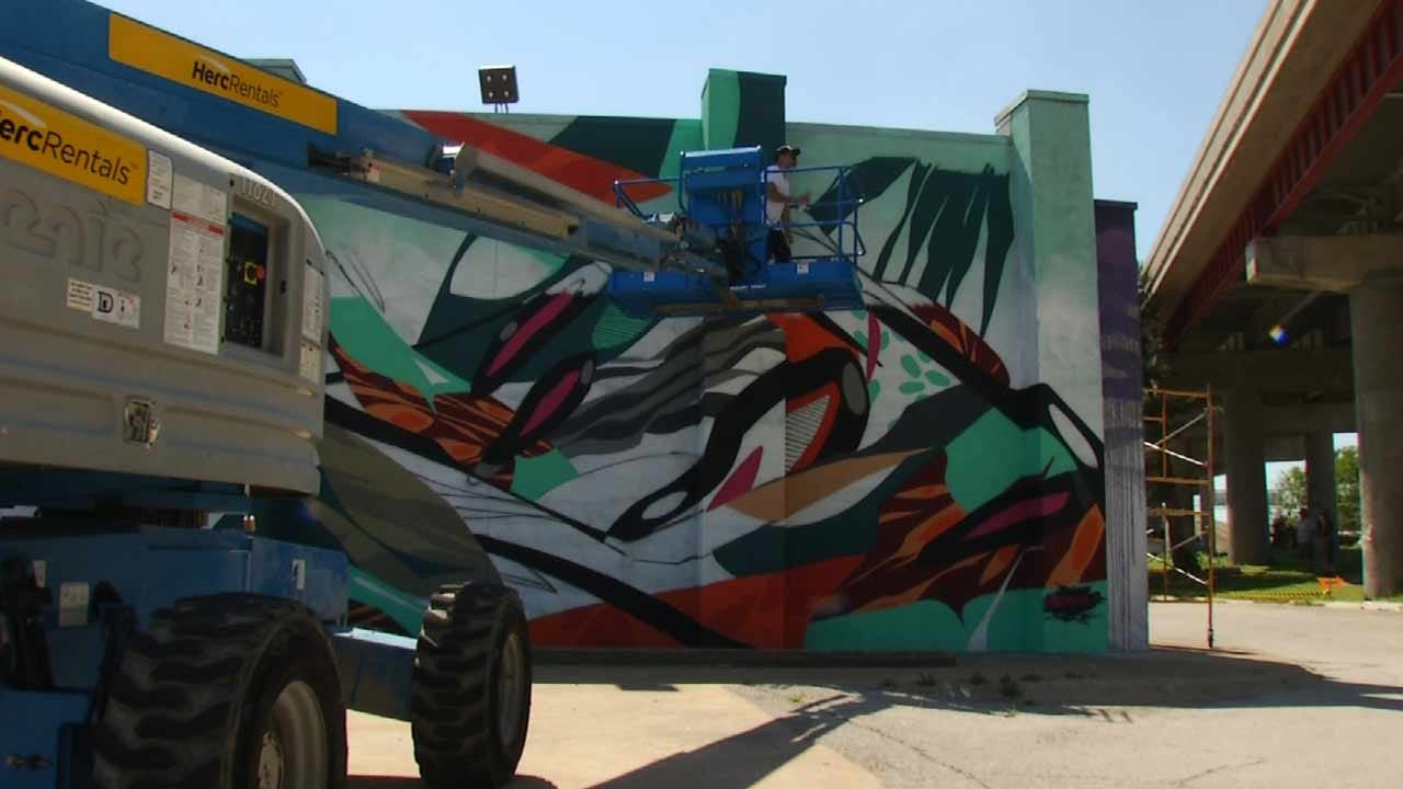 Tulsa Mural Festival Draws Artists From Across The Nation
