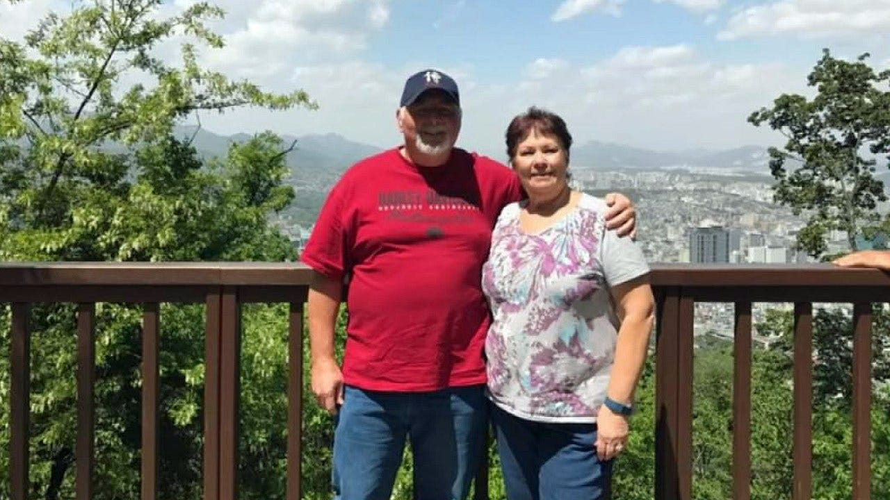 Colcord Couple Near North Korean Border During Missile Test