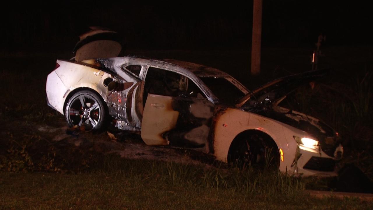 TFD Investigates Overnight Car Fire