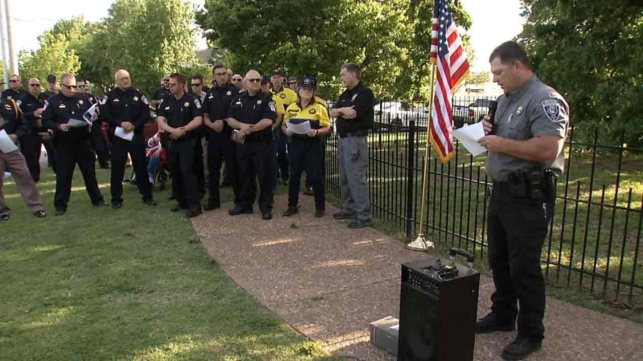 Community Honors OK Law Enforcement Members Killed