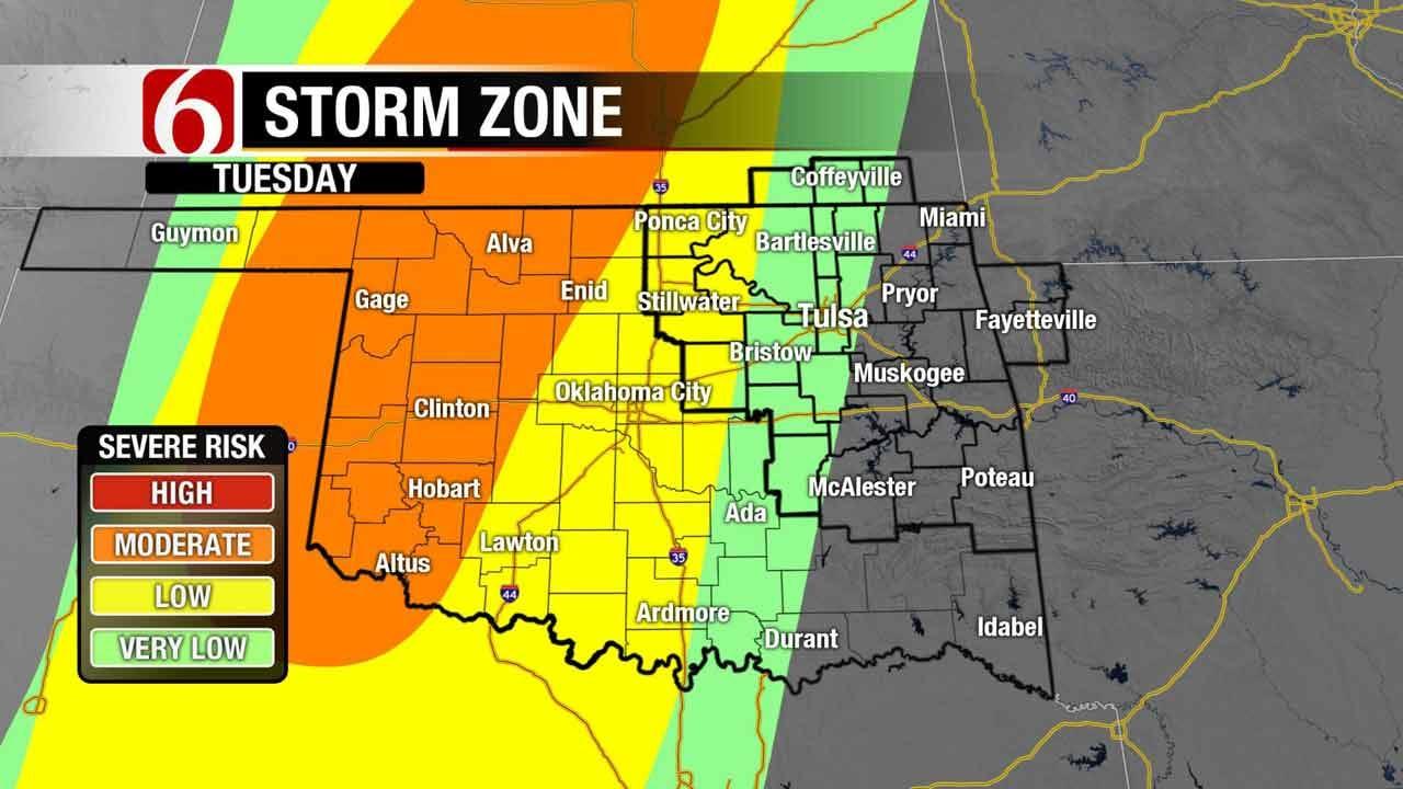 Stormy Week Ahead For Northeast Oklahoma