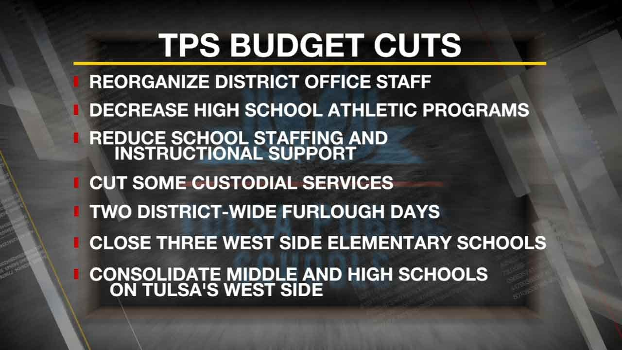 TPS Votes To Cut Staff, Consolidate West Side Schools