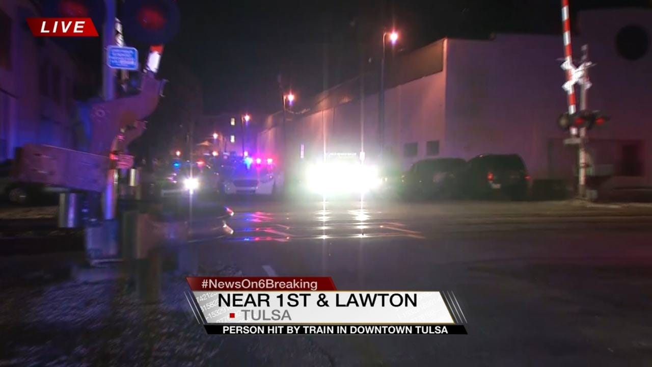 Man Survives Being Hit By Train In Tulsa