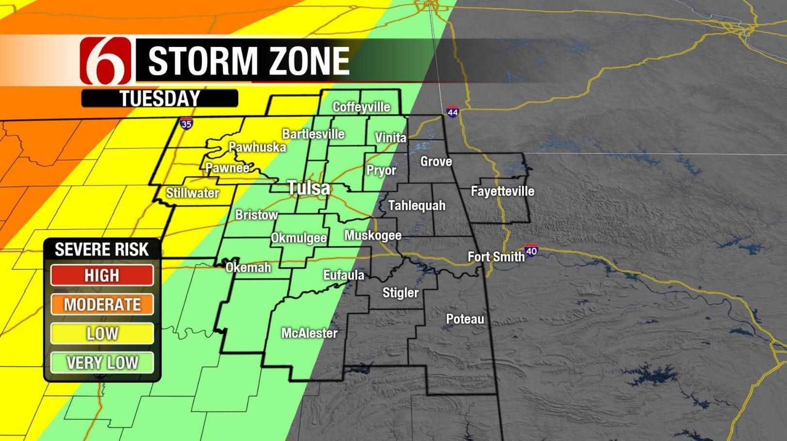 Storm Chances Return