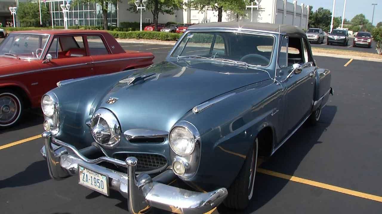Studebaker Drivers Club Hosts Car Show In Tulsa