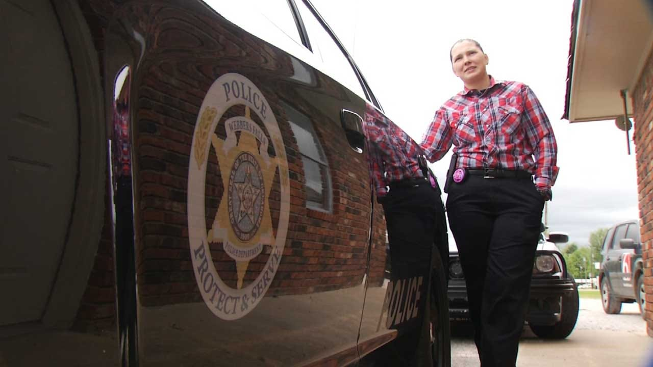 Former Vian Officer Starts New Job At Webbers Falls