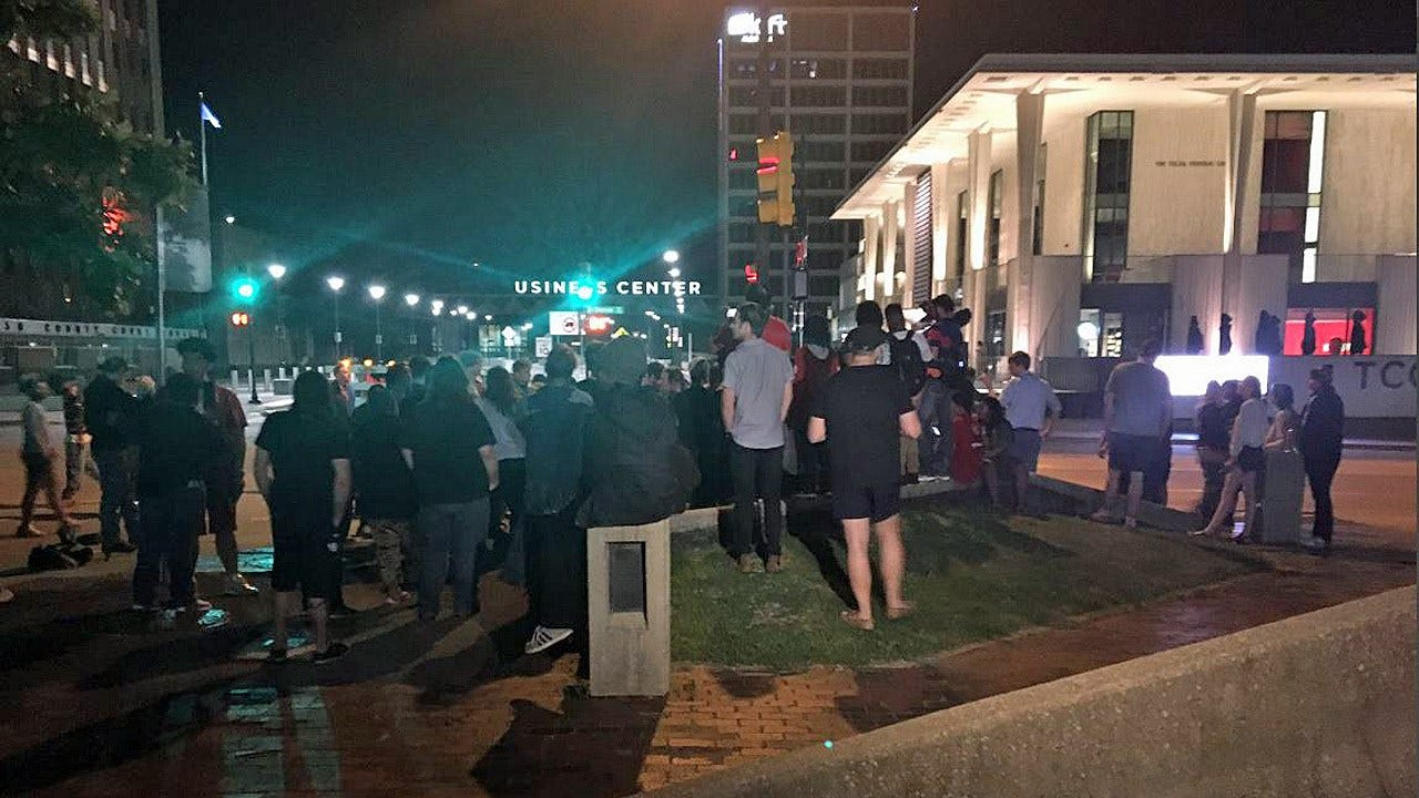 Protests Break Out Following Acquittal Of Officer Betty Shelby