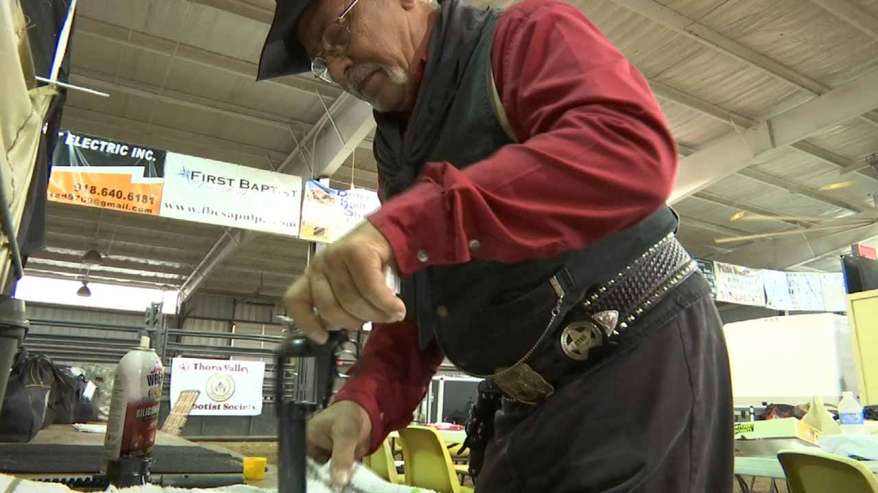 Kellyville Hosts Nearly 100 'Gunslingers' For Shooting Competition