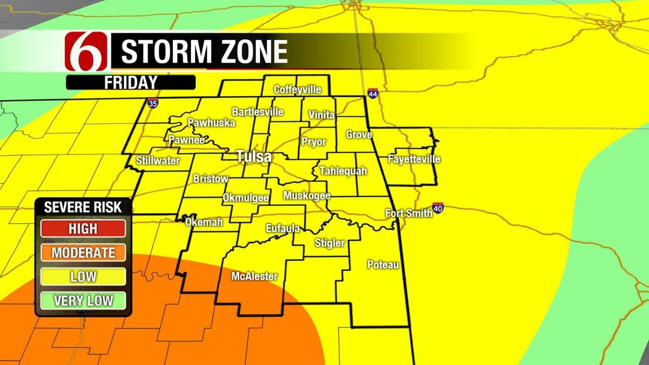 More Storms Likely In NE Oklahoma Into The Weekend