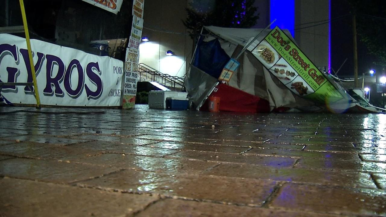 Tulsa Festivals Not Letting Severe Weather Ruin Weekend