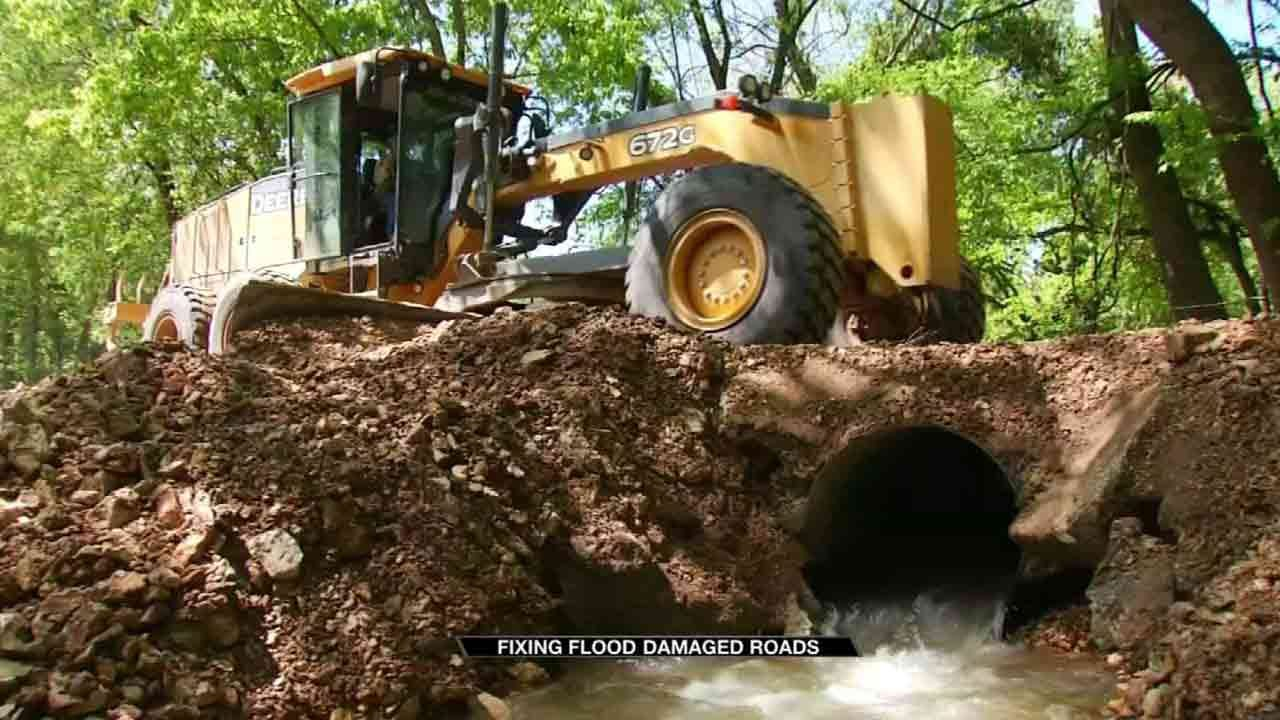 Delaware County Struggles To Fix Damaged Roads