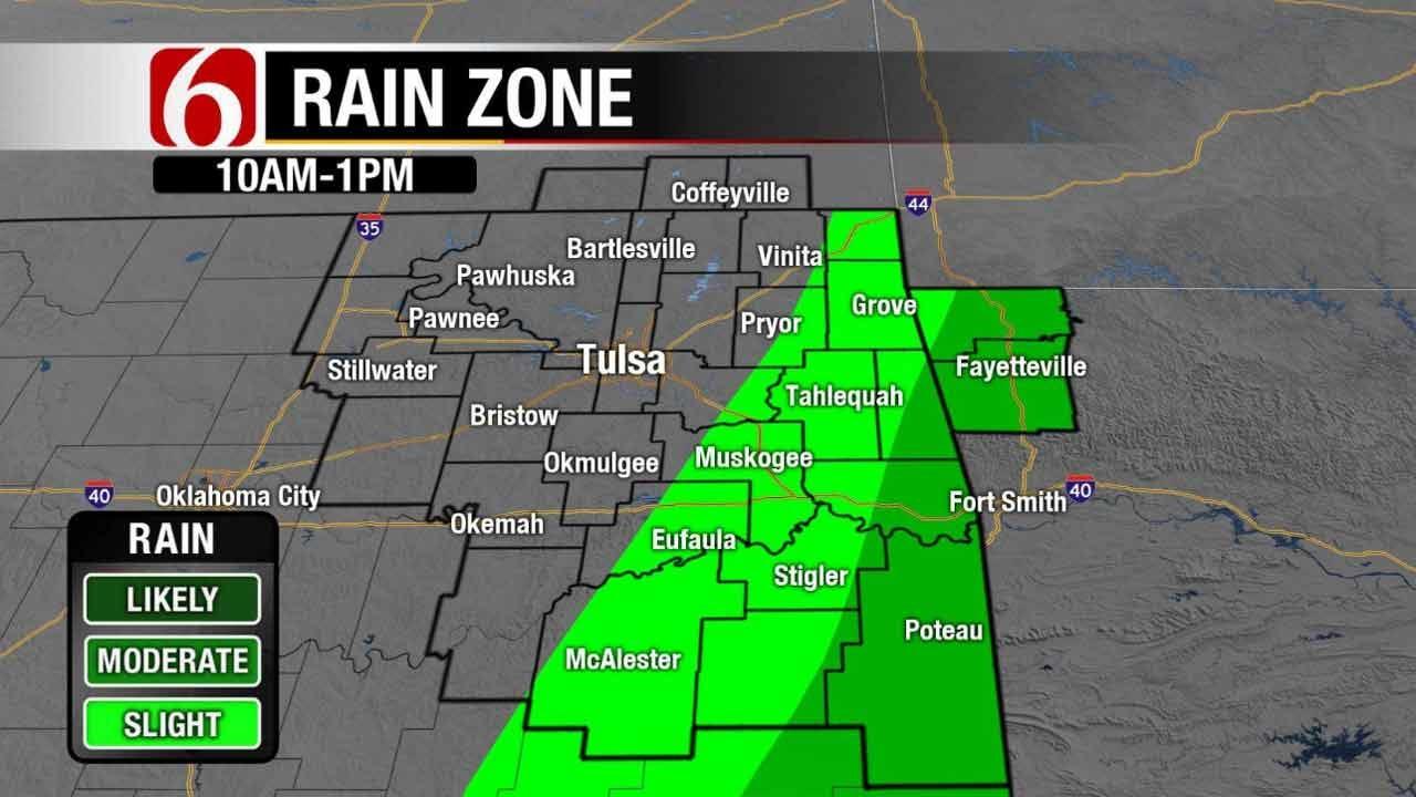 Improving Weather Soon In Eastern Oklahoma