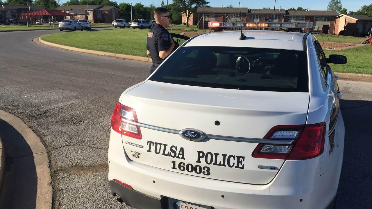 Man Killed At Tulsa Apartments; Suspect In Custody