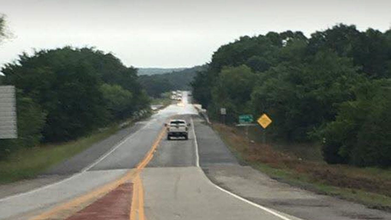 Oklahoma Roads Closed By High Water