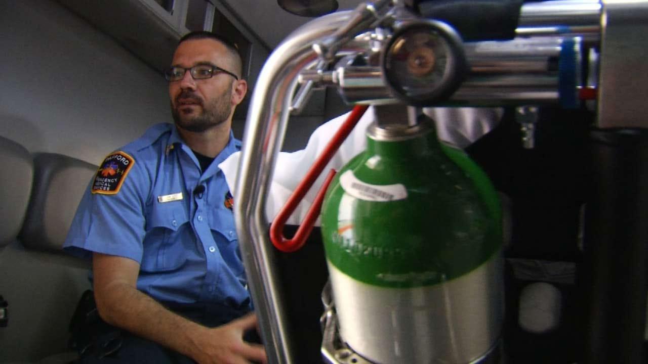 Military Veteran Continues Service As Claremore Paramedic