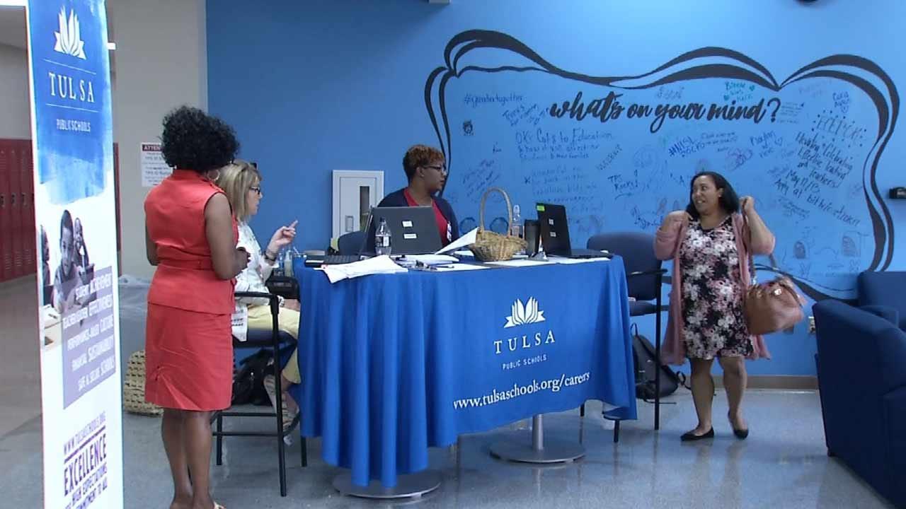 Despite Budget Crisis, Oklahoma Teachers Apply For Jobs