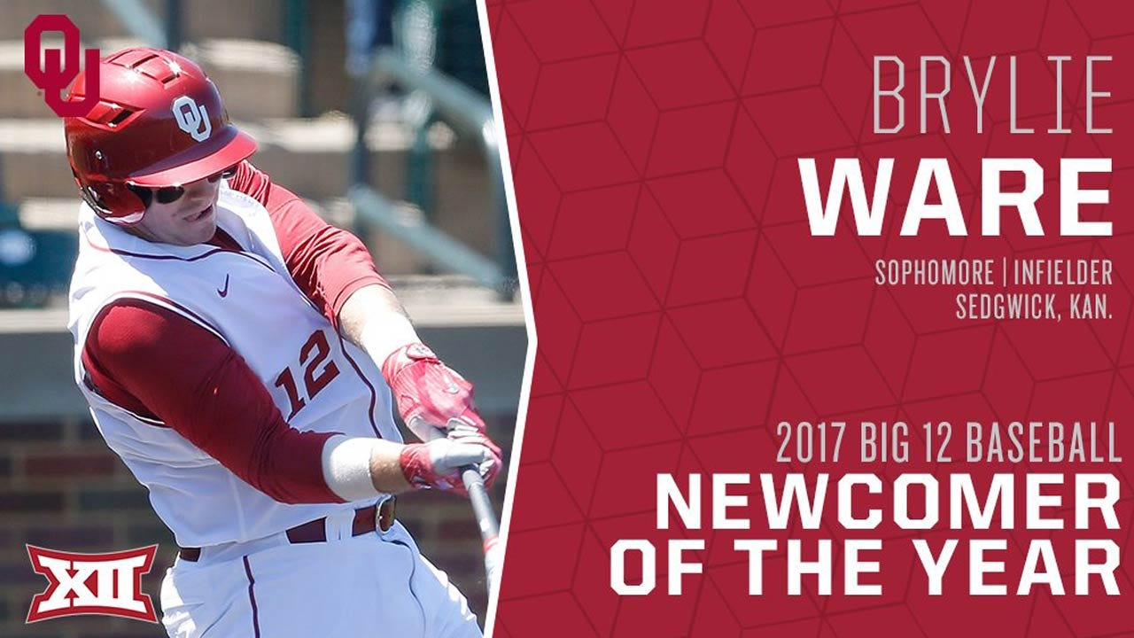 OU's Ware Tabbed Big 12 Newcomer Of The Year