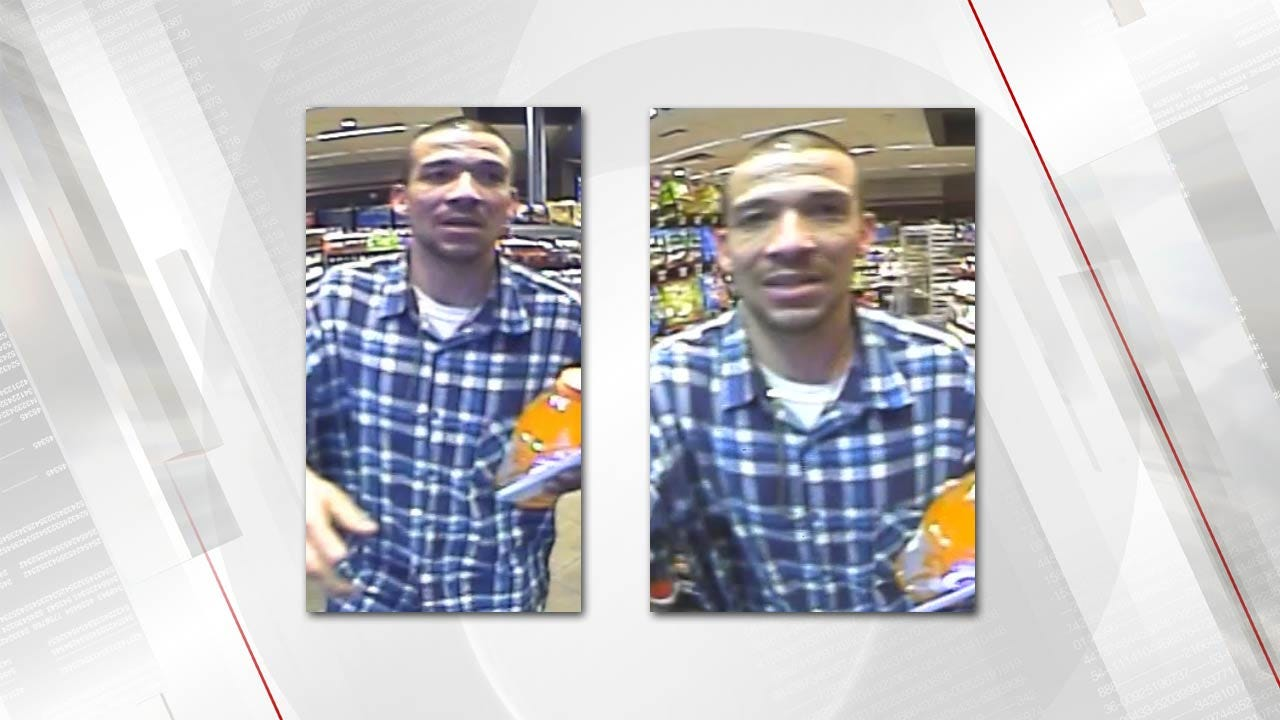 Rogers County Deputies Seek To ID Theft Suspect