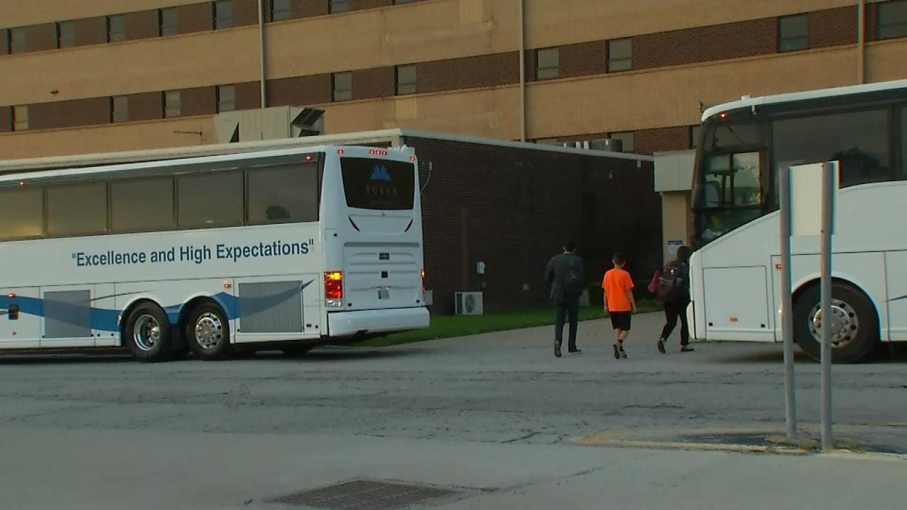 Tulsa Teachers Head To State Capitol For Budget Meetings